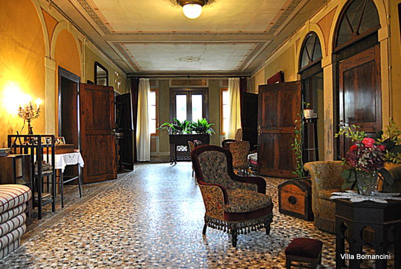 Veneto TourGuide_Villa Bornancini-interni a Cinto Caomaggiore
